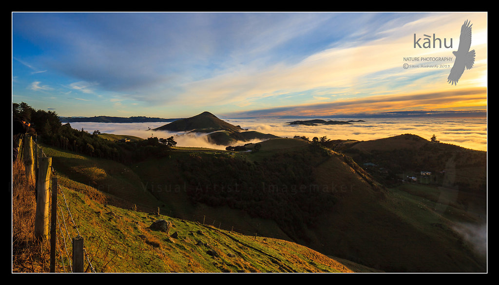Sunrise on the Otago Peninsular  L34