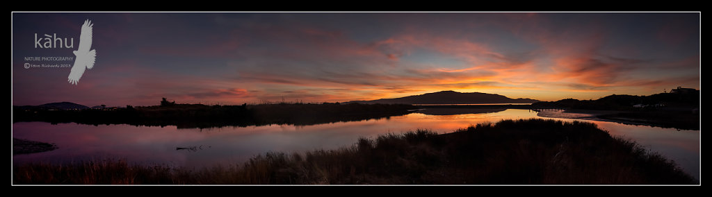 Sunset Waikanae Estuary -  P3