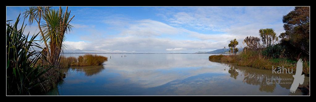 Morning Lake Wairarapa-  P9