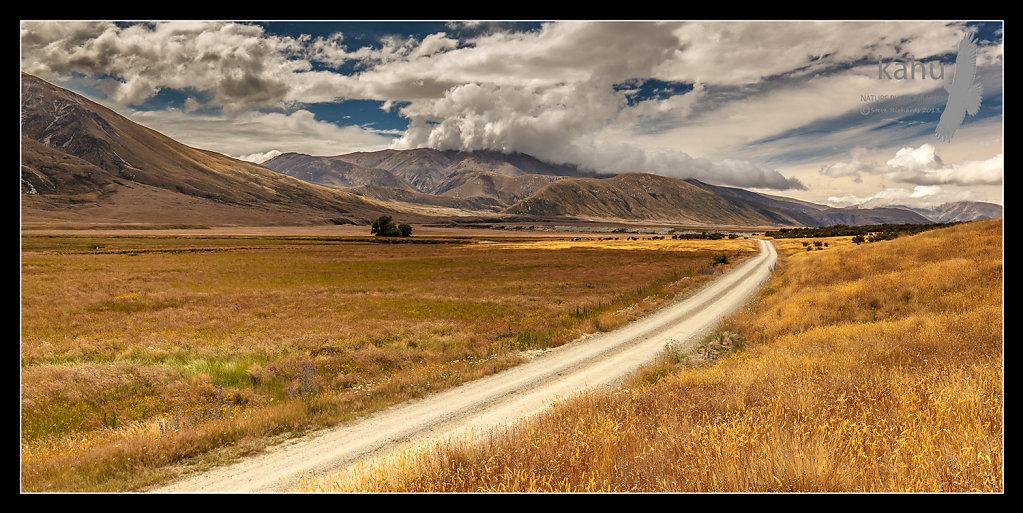 Road down the Ahuriri  -   L6