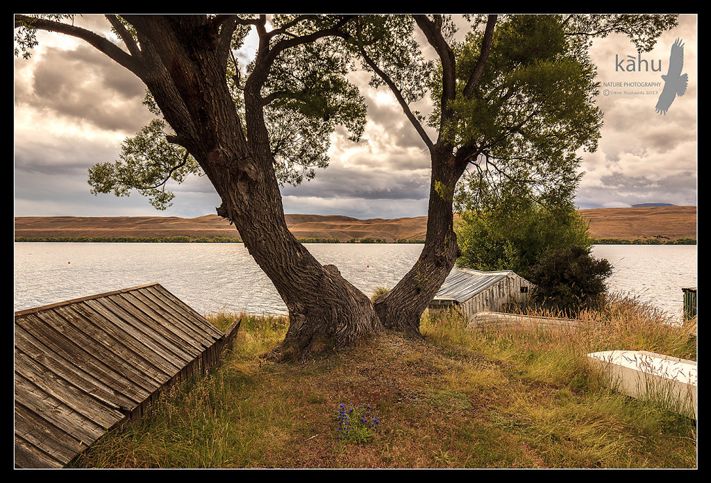 Boat sheds Lake Alexandrina  -  L9