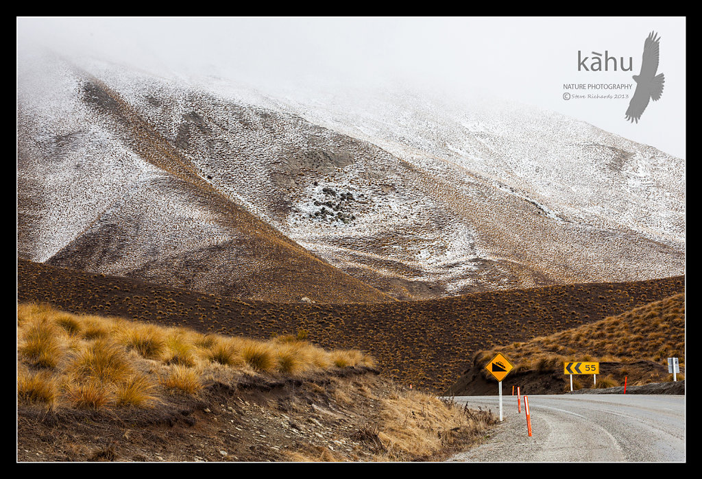 First snow Lindis Pass  -  L1