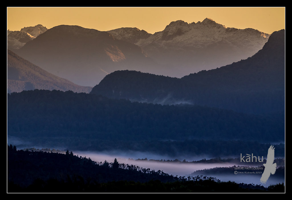 Sunrise Eglinton Valley Fiordland     SS17