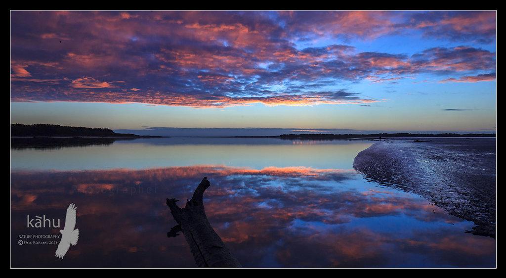 Sunset Manawatu River  L13