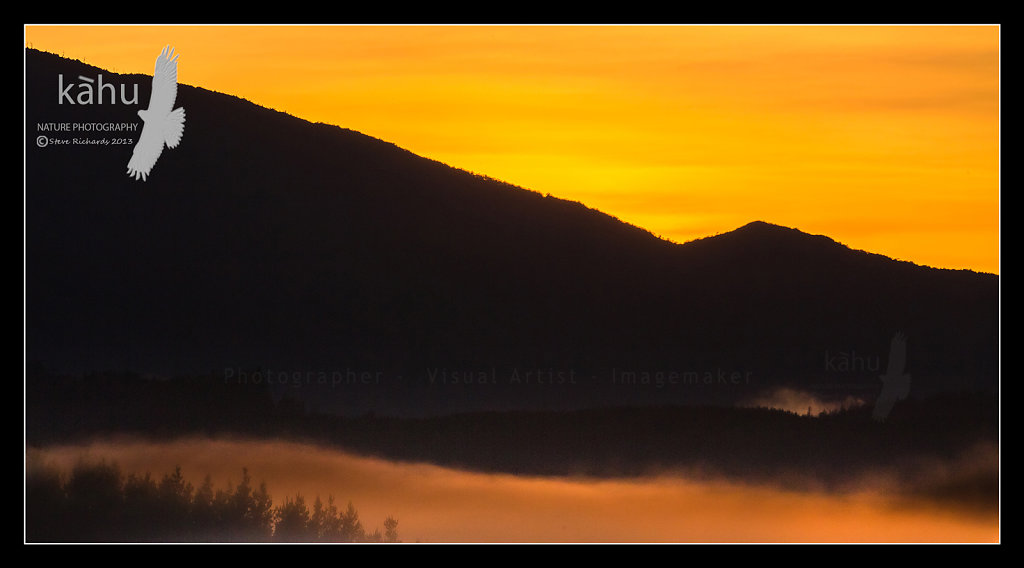 Sunrise at Kaitoke north of Upper Hutt   SS5