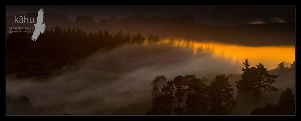 Sunrise at Kaitoke north of Upper Hutt   SS8