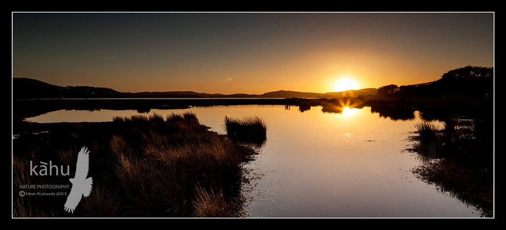 Sunset Pauahatanui Inlet   SS12